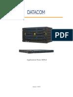 Application Notes MPLS-DATACOM