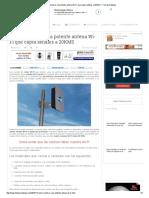 Cómo Construir Una Potente Antena Wi-Fi Que Capta Señales a 20KMS _ Full Aprendizaje