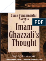 Fundamental Aspects of Al-Ghazzalis Thought