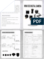 Mini CCD Digital Camera Manual
