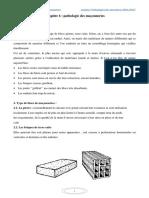 PATHOLOGIE DES STRUCTURES Chapitre 6 Pathologie Des Maçonneries