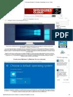 Cómo Tener Windows 7 y Windows 10 Instalados a La Vez