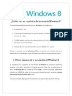 Instalacion de Windows 8