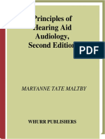 1- Principles of Hearing Aid Audiology