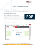 Manual de Acceso a La Plataforma EDO Online