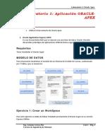 Laboratorio Oracle Apex 1