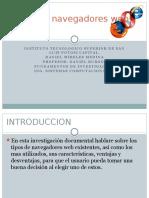 Tipos de Navegadores Web EXPOSICION