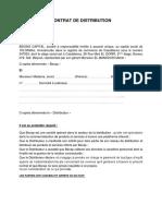 Contrat de Distribution v1