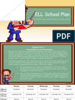 ell school plan