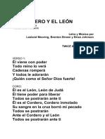 El Cordero y El León