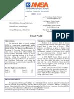 2013 2014 School Profile
