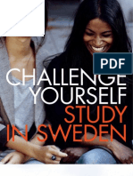 Study in Sweden Brochoure