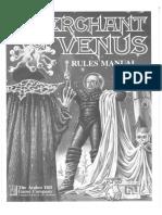 Avalon Hill - Merchant of Venus - Rules Manual