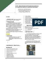 Laboratorio Nº5 Reacción de Sustitución Nucleofílica