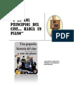 Concierto Didáctico Y en Los Principios Del Cine… Había Un Piano 2015-2016
