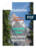 CO 44 HBAe - Pathologie Van de Schouder - M. Van Der List (Versie 2008)