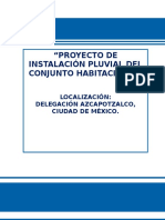 Proyecto Pluvial