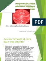 6.1. Tendencias Globales Del Cambio Climatico