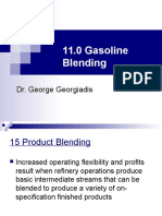11.0 Gasoline Blending