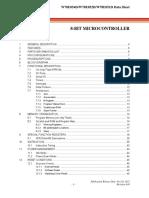 Nuvoton-W78E052DDG-datasheet
