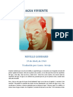 Agua Viviente - Neville Goddard