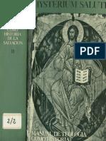 Mysterium Salutis 2. La Historia de la salvación antes de Cristo
