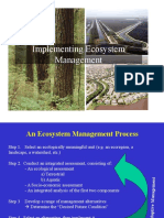 Lecture 12_Implementating Ecosystem Management