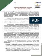 Congreso Pedagogico Circuital 01 y 02 de Diciembre (1)