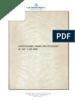Especificaciones Mínimas Para Edificaciones de 1 y 2 Pisos (VERSION 1)