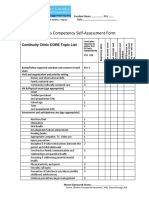 residents self assessment form