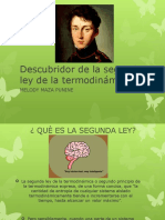 Descubridor de La Segunda Ley de La Termodinámica