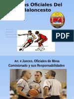 Reglas Oficiales Del Baloncesto Exposicion