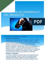 Economia de Desarrollo Del Producto Ing Producto 2
