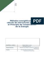 Métodos energéticos_Principio de Conservación de la energía