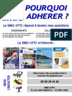 Pourquoi Adherer Au SNEC-CFTC Mayenne