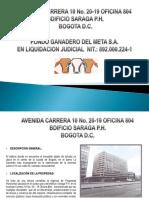 Brochure Oficina 804 Ed. Saraga P.H. Bogotá