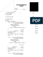Format CV Pendamping Desa TA