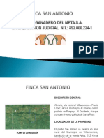 Brochure Finca San Antonio