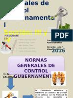 GRUPO 2- Normas Generales de Control Gubernamental ( III Y IV)