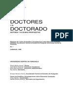 Los Doctores y El Doctorado