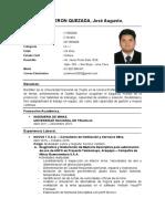 CV JCalderonQ Lima