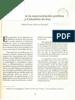 Uribe de Hincapié, María Teresa (1995) El Malestar Con La Representación Política