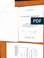 Un Quijote Visionario