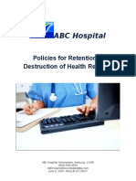 young s - policies for retention and destruction of hr-module 3