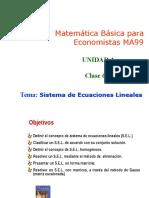 4.2.Sistema de Ecuaciones Lineales