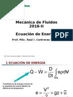 Cap N 8 Ecuacion de Energia y Cantidad de Movimiento