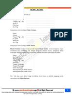 Contoh Surat Kuasa Khusus Untuk Polis Asuransi