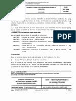 NBR 08354 PB 484 - Grampo U Para Fixacao de Feixes de Molas - Dimensoes