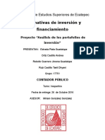 Potafolios Inversion