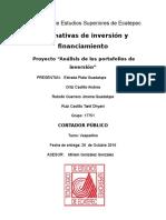 Potafolios Inversion